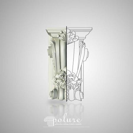 Consola Decorativa din Poliuretan