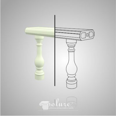 Balustrade Decorative din Poliuretan